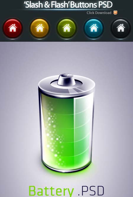 80 ficheros de iconos psd para diseñadores