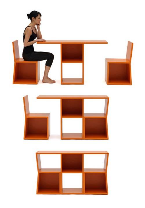 hoy en da los muebles multiusos son ideales pues es aprovechar al mximo los espacios reducidos tanto en el hogar como en la oficina