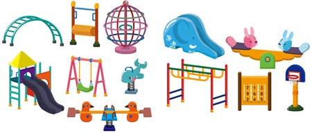 Parque infantil en vectores portafolio blog - Como hacer un parque infantil ...