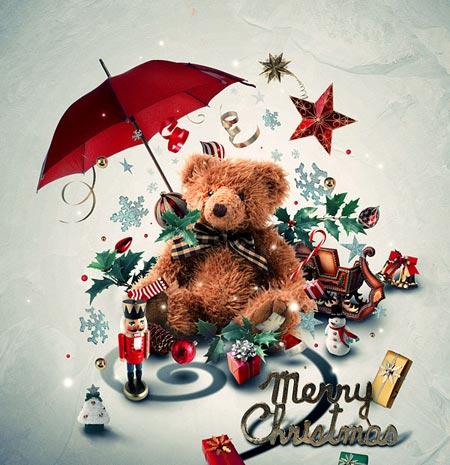 Tarjetas de felicitaci n creativas para navidad - Postales navidenas creativas ...