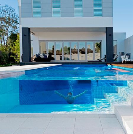 una piscina transparente portafolio blog