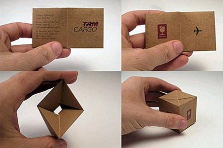 Cartas de papel creativas - Imagui
