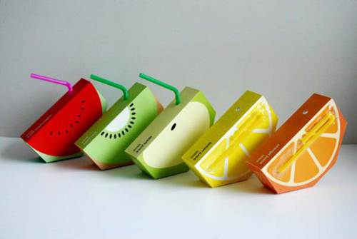 Empaques creativos para jugos