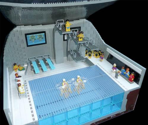 Centro acuatico de legos