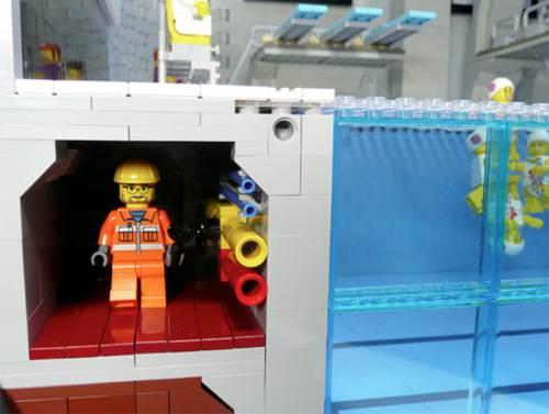 Asistentes en el centro acuatico