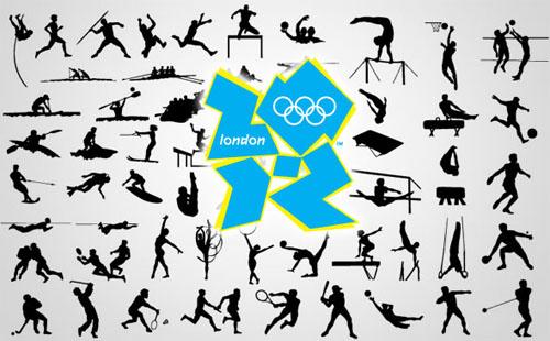 Logo de las olimpiadas de Londres 2012 vectorizado