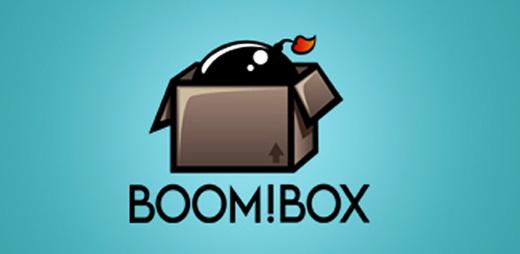 Boom!Box lleno de color y creatividad. Una elaborada ilustracion acompañada de luces y sombras.