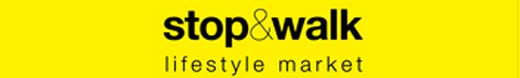Logotipo Stop and Walk, donde se encuentran cosas interesantes
