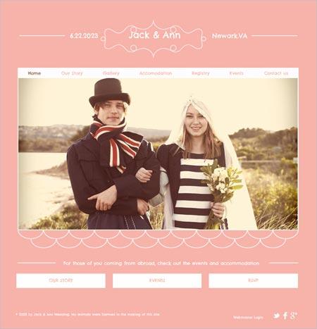 15 plantillas de WordPress para bodas | portafolio blog