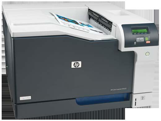 Impresora a color HP, tecnología láser