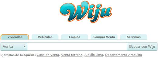 Wiju, buscador de anuncios clasificados interesante y novedoso