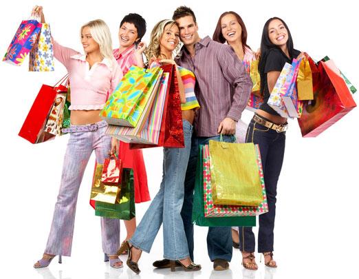 Ventas en la Web, compras de moda