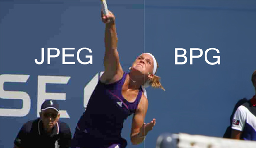 BPG VS JPG el formato que llego a remplazarlo