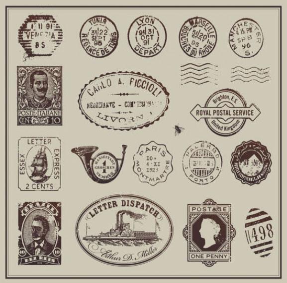 paquete de logos vintage disponibles en internet