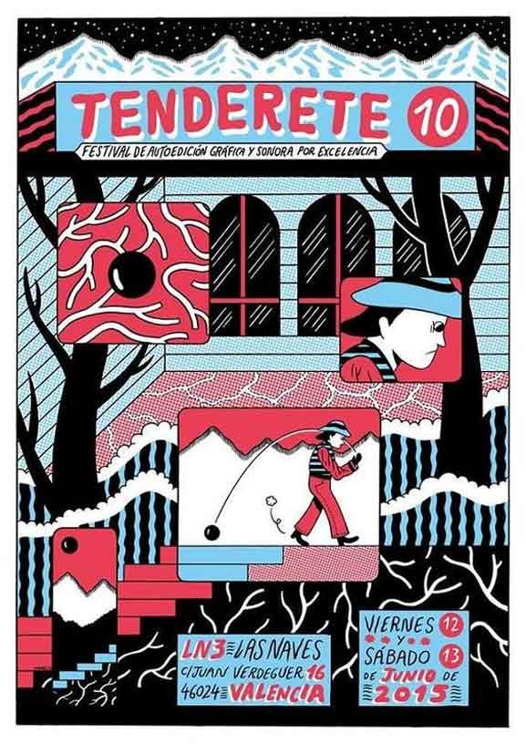 Tenderete décima edición es un festival de autoedicion grafica y sonora
