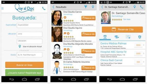 Voy al Doc es una nueva aplicación disponible para iOS y Android