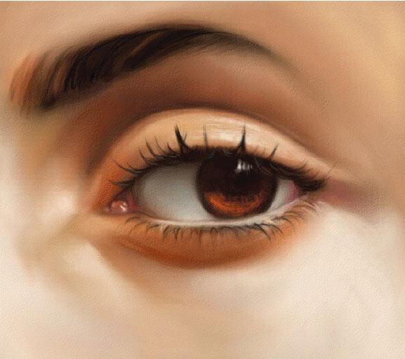 Como realizar unos ojos realistas con Photoshop. Tutorial.