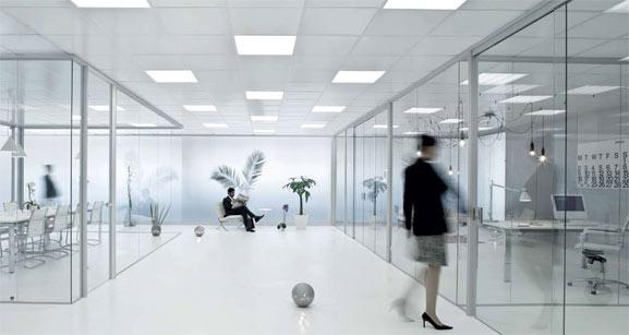 iLuminación de la oficina
