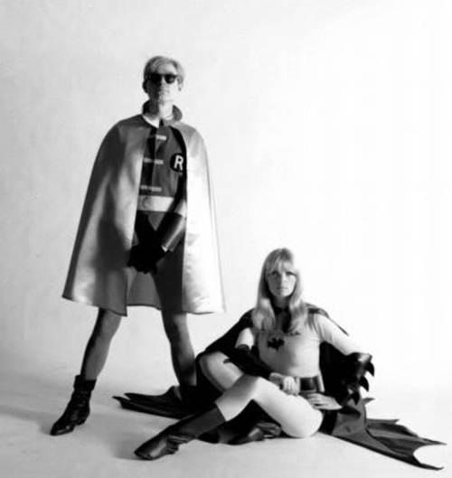 Andy Warhol y Nico como el duo dinamico